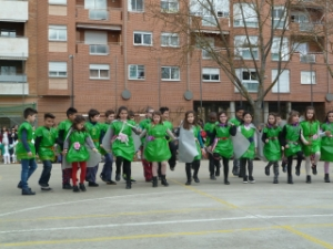 Baile 3º E. Primaria Carnaval 2017