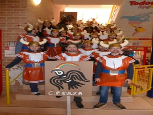 Baile 5º E.Primaria Carnaval 2017 Eulza